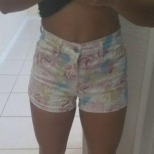 Guess Floral Print Shorts